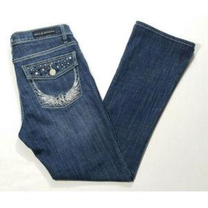 ROCK&REPUBLIC Women Kasandra Bootcut Jeans 2686E2